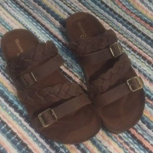 WORN ONCE sandals